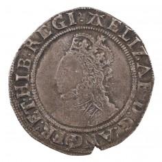 Elizabeth I Silver Shilling, Sixth Issue 'A' Mint Mark, 1582-84
