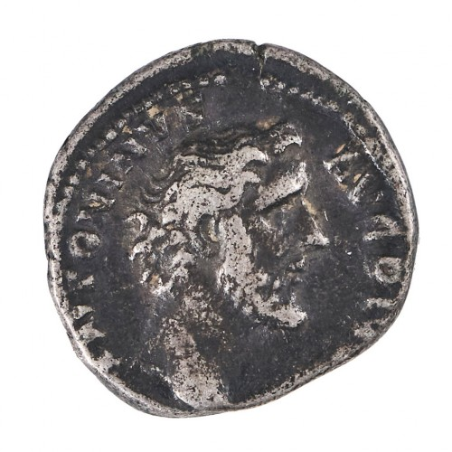 Emperor Antoninus Pius, Silver Denarius, Pax, Circa AD 139