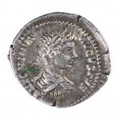 Emperor Caracalla, Silver Denarius, AD 200