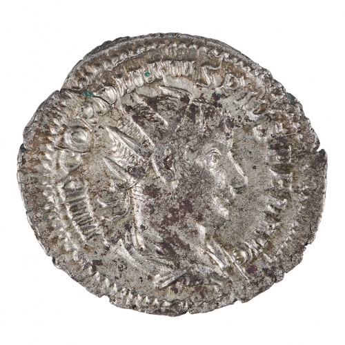 Emperor Gordian III Silver Antoninianus, Laetitia Reverse, Rome AD 241-3