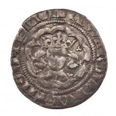 Edward III Silver Halfgroat Series D Pre-Treaty 1356-1361