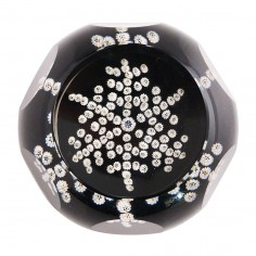 A Whitefriars Caithness Snow Crystal Paperweight 1981