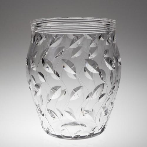 Leaf Pattern Vase By Clyne Farquharson For John Walsh Walsh c1936