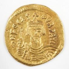 Emperor Phocas Byzantine Empire  Gold Solidus, Constantinople Mint AD 602-610