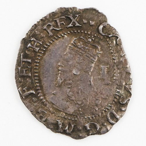 Charles I Silver Penny, Two Pellets Mint Mark,Tower Mint Under the King, 1625-42