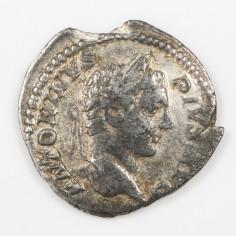 Emperor Caracalla, Silver Denarius, Mars Reverse, AD 206