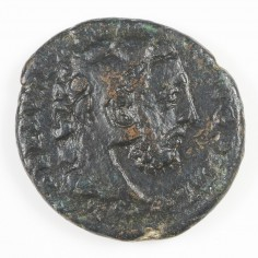 A Scarce Emperor Commodus AE As, Commodus as Hercules, Rome Mint, AD 192