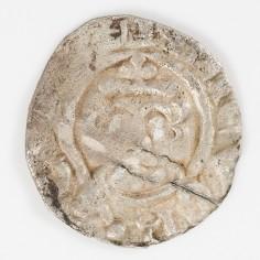 Richard I The Lionheart Silver Voided Short Cross Penny, Vlard, Canterbury Mint, 1189-1199