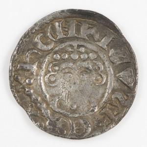 King John Voided Short Cross Silver Penny, Canterbury Mint Roberd, 1199-1216