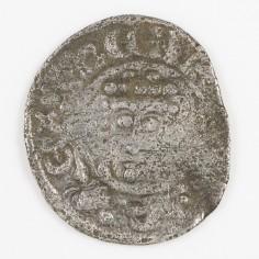 King John 'Lackland' Voided Short Cross Silver Penny, Northampton, Roberd T, Class 5b2, 1199-1216