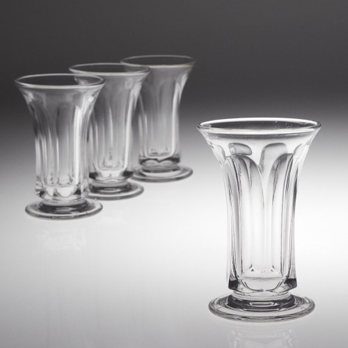 Four Victorian Jelly Glasses c1850