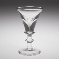 A Deceptive Toastmasters Glass c1840
