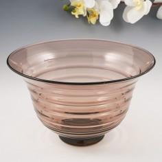 A Scandinavian Glass Bowl  After 1930