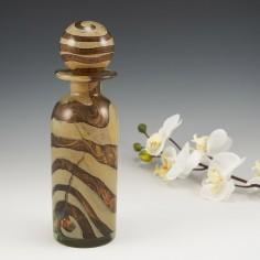 A Mdina Earthtones Bottle Decanter c1975