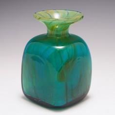 A Mdina Ming Square Vase c1975