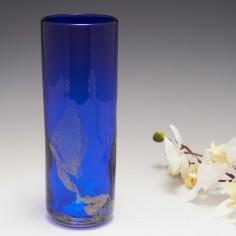 Blue Azurene vase By Sarah Richardson 1992