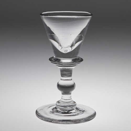 A Very Fine Deceptive Toastmasters Glass c1825