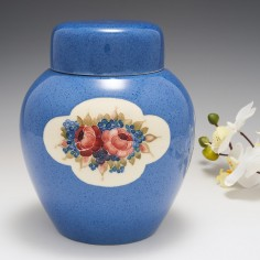 A William Moorcroft Pottery Ginger Jar and Cover c1918
