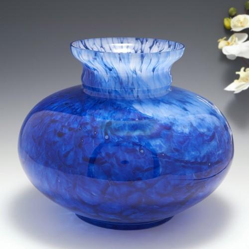 A Very Large Andre Delatte Glass Vase c1925