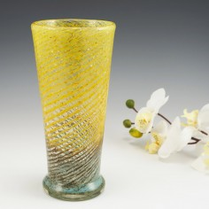 Czech Or German Vase Monart Style c1930-50