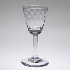 Nizet Liege Wine Glass c1780