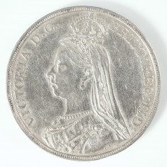 Victoria Silver Crown, Golden Jubilee Issue, 1891
