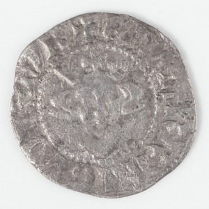 Edward I Silver Long Cross Penny, Canterbury, after 1279