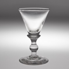 A Deceptive Dram Or Port Glass c1830