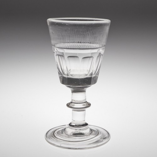 An Early 19th Century Port Wine Glass