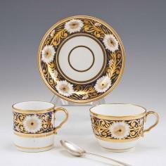 Spode Porcelain Pattern 893 Trio c1806