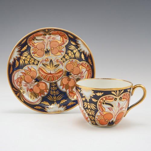 A Coalport Porcelain Tea Cup and Saucer 1805-10