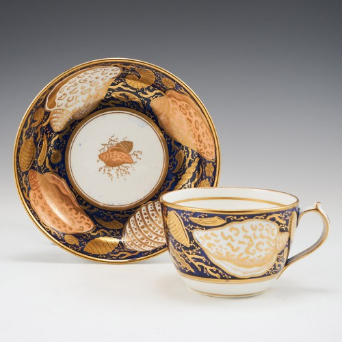 A Very Fine Miles Mason Porcelain Tea Cup and Saucer c1812