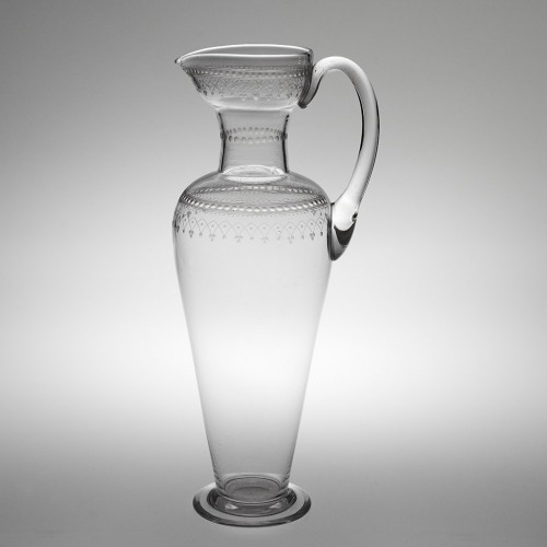 A Tall James Powell & Sons Whitefriars  Lekythos Jug c1885