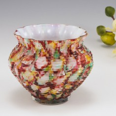 A Frank Welz Posy Vase c1890