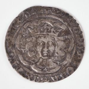 Edward IV First Reign Silver Groat  Cross/Sun Mint Mark, AD 1469-1470