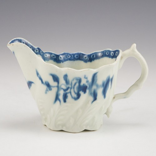 A Lowestoft Porcelain Cream Boat 1765-70