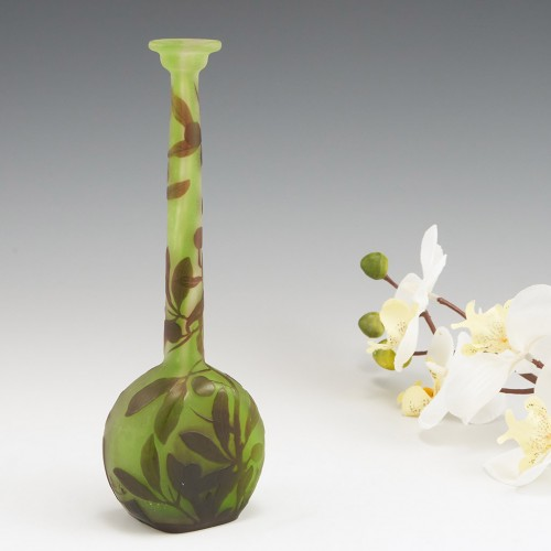 A Fine Galle Cameo Vase c1900