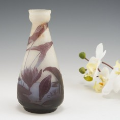 Galle Vase With Water Lilies c1920