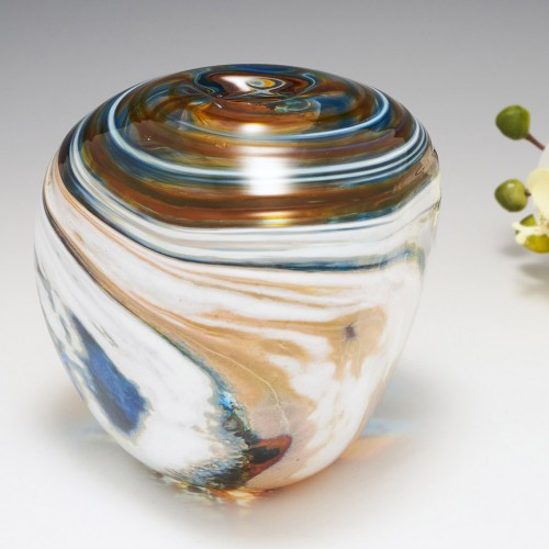 A Storm Clouds Vase By Siddy Langley