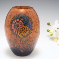 An Andre Delatte Vase c1925