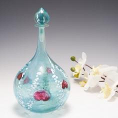 A Signed Journey Bottle Vase by Siddy Langley 2004