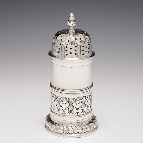 A Sterling Silver Sugar Sifter By Pairpont Brothers London 1909