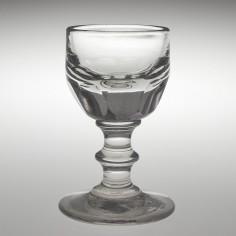 A Victorian Deceptive Dram Glass c1850