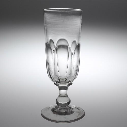 Rare Sunderland Ale Glass Baluster Knop c1860