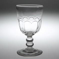 A Petal Moulded Tavern Glass Rummer c.1870