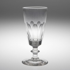 A Victorian Funnel Ale Glass c1880