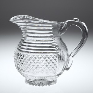 An Early 19th Century Cut Glass Water Jug