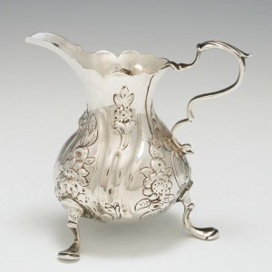 Sterling Silver Cream Jug London 1764