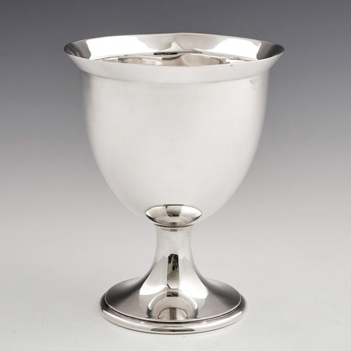 A Sterling Silver Goblet London 1913