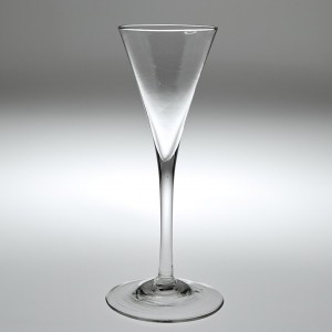 An 18th Century Toasting Glass c1750